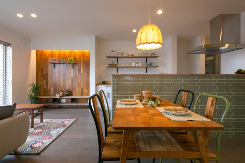 ワンフロアー[平屋]間取りも・生活もシンプルに暮らす家